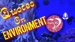 BEST ENVIRONMENTAL QUOTES & SLOGANS || SAVE ENVIRONMENT QUOTES || SLOGANS ON NATURE || CRAFTY MOI