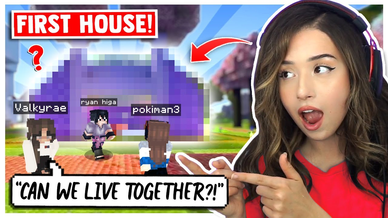 Building My FIRST MINECRAFT HOUSE on OfflineTV & Friends SMP!