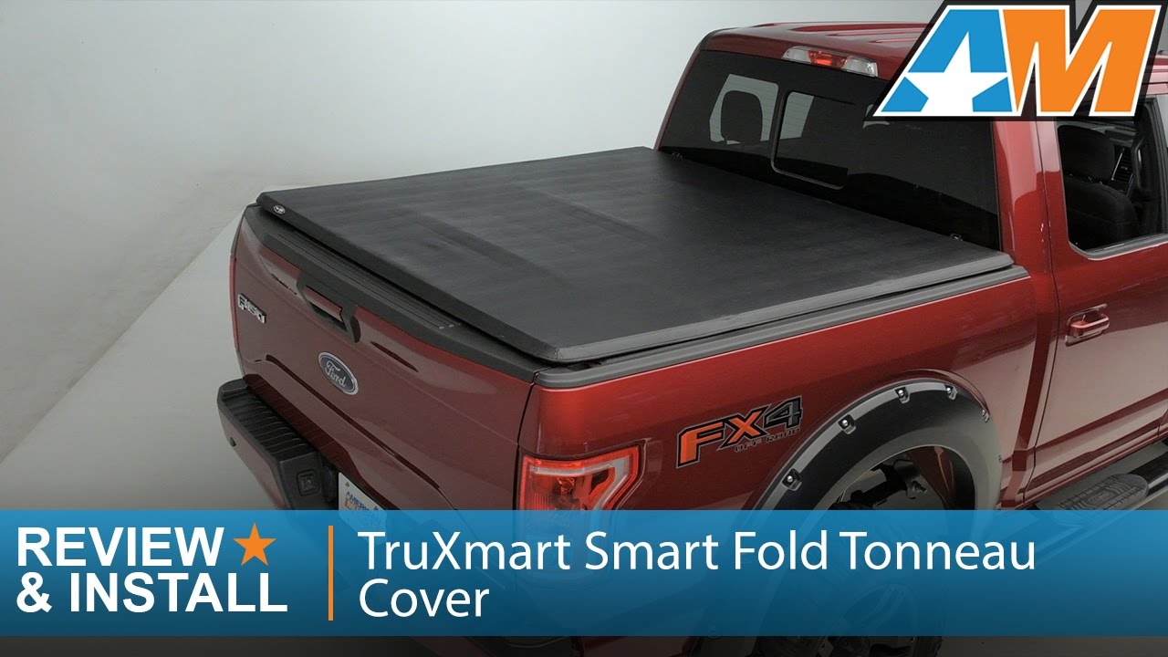 2015 2017 Ford F 150 Truxmart Smart Fold Tonneau Cover Review Install Youtube