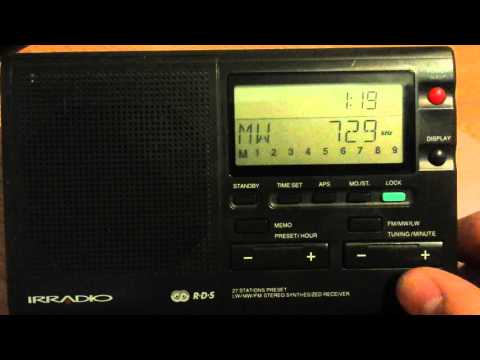 MW 729 kHz Greek ERA Net Athinai