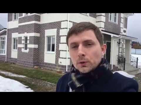 обзор построенного загородного дома 🏡 230 м2 под ключ в Солнечногорском районе Московской области