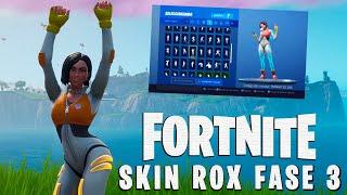 Skin Rox Phase 3 Doing +80 Dances/Gestures at Fortnite Battle Royale