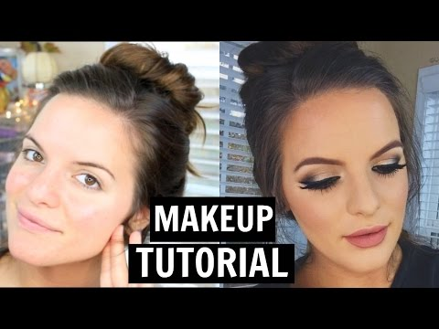 Easy Holiday Makeup Tutorial! | Casey Holmes