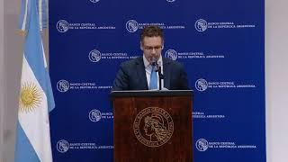 Conferencia de prensa de Guido Sandleris