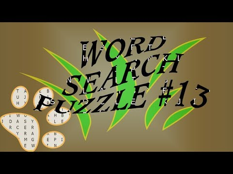 3 minutes word search puzzle with answers #13 I Word find I Letter puzzle