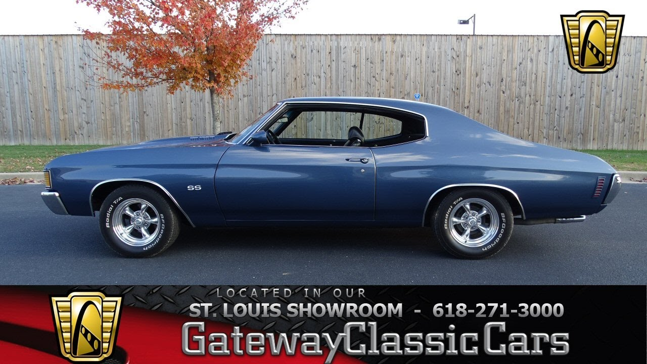 7111 1972 Chevrolet Malibu - Gateway Classic Cars of St. Louis ...