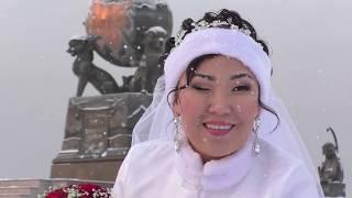 Свадьба зимой. Подготовка к свадьбе. Выкуп невесты. Свадьба Арсена и Екатерины из Кызыла.