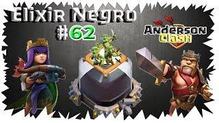 CLASH OF CLANS - EM BUSCA DO ELIXIR NEGRO #62 UPANDOO O REI PARA O NÍVEL 42