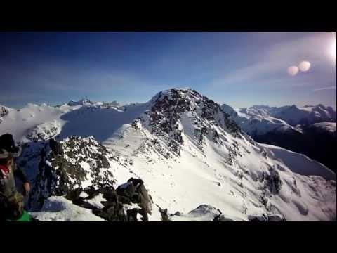 Whistler Blackcomb Highest Peak Snowboarding