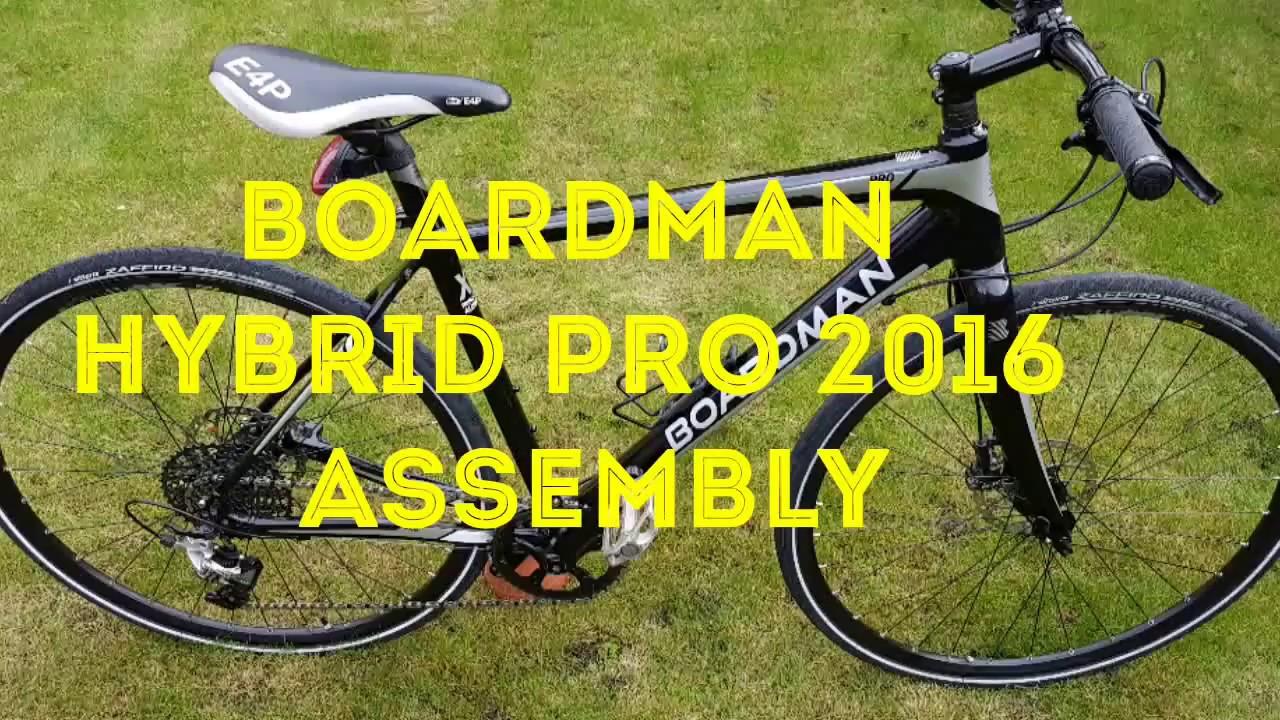 Boardman Hybrid Pro bike Unboxing + Assembling (HD)