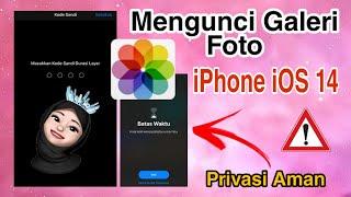 Cara Mengunci Galeri Foto di iPhone iOS 14 TANPA APLIKASI - Kepoin CH screenshot 4