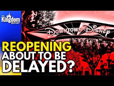 Phased Reopening Of Disneyland DELAYING Downtown Disney?