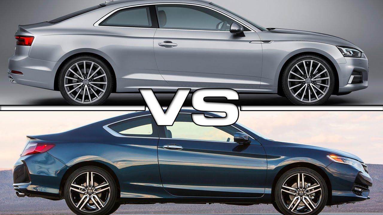 2017 Audi A5 Coupe vs Honda Accord Coupe - YouTube