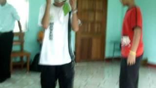 HAHAHA!! SPEECHLESS ;) XD Video taken by Hana ;)