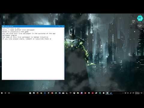 batman injustice live wallpaper