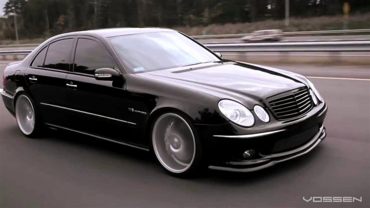 mercedes w211 e55 amg tuning youtube. Black Bedroom Furniture Sets. Home Design Ideas