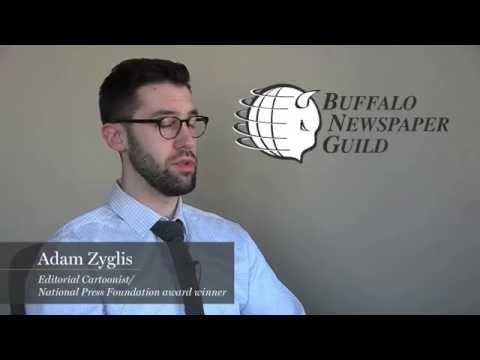 #WeAreTheNews: Pulitzer Prize-winning editorial cartoonist Adam Zyglis