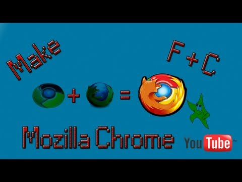 Make Mozilla Firefox looks Like GoogleChrome Mozilla Chrome