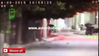 Mardin'de Polis'e Ateş Açan PKK'lı Terörist'in Vurulma Anı !