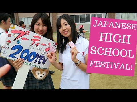 High School Festival in Kyoto!