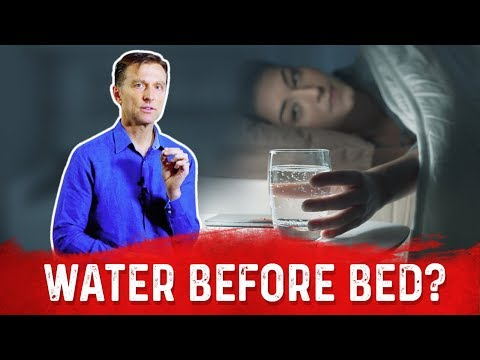 Should You Drink Water Before Bed?