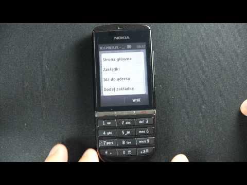 Nokia Asha 300 - internet - part 2