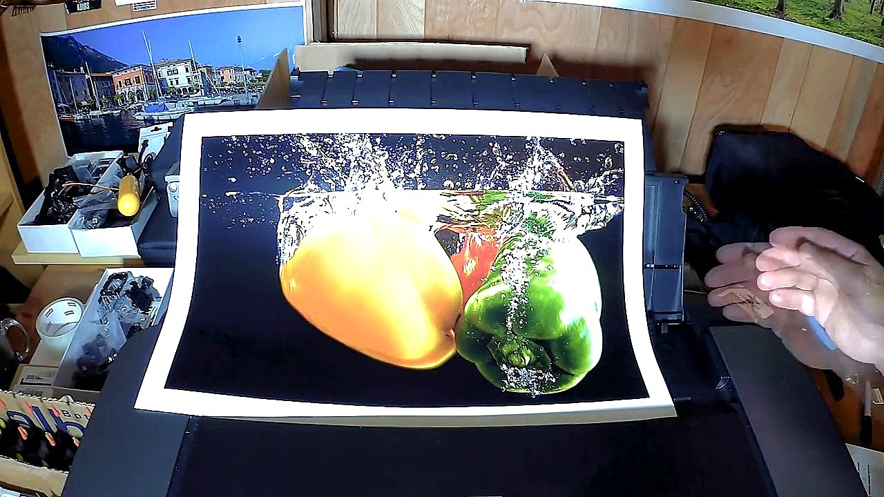 My First 13 X 19 Print On The Canon Pro 10 On Canon Pro Luster Youtube