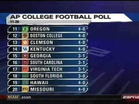 ap college football poll week