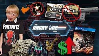 AJS News- Violence in Games, Teen Spends $20K on Fortnite, Tsushima Breaks Records, Army Off Twitch!