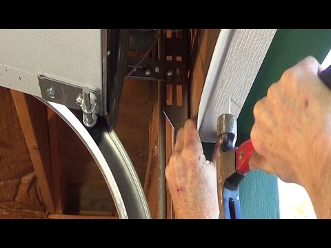 Door Threshold Seal >> GARAGE DOOR SEAL | GARAGE DOOR SEAL SIDES | GARAGE DOOR SEAL INSTALLATION - YouTube