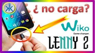 👍✔ Wiko Lenny 2 - NO CARGA - SOLUCION AQUI- REPARACION CONECTOR DE CARGA