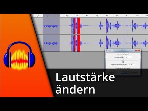 Audacity Tutorial   Lautstärke für markierte Bereiche ändern [Deutsch/HD]