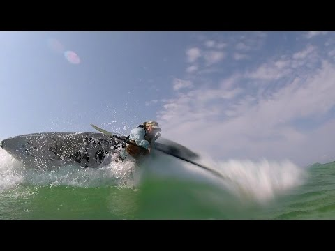 Tips for surf re entry- offshore kayak fishing