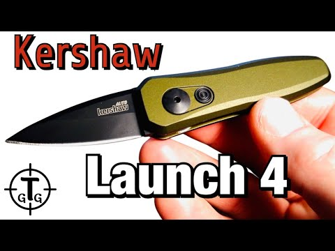 Kershaw Launch 4 Review / Small yet effective EDC pocket knife