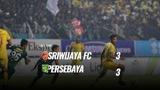[Pekan 22] Cuplikan Pertandingan Sriwijaya FC vs Persebaya, 16 September 2018