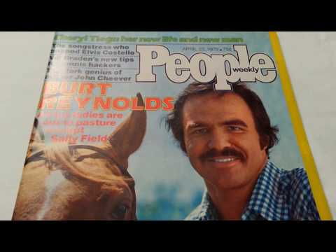 Burt Reynolds - People Magazine (1979)