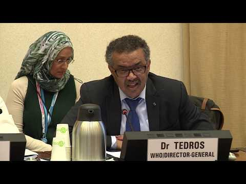 Towards healthier population: a new vision - Technical Briefing at WHA72