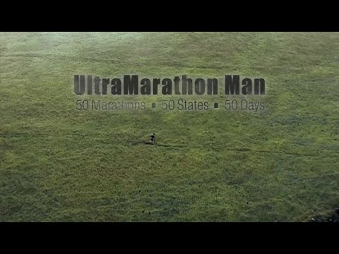 UltraMarathon Man: 50 Marathons • 50 States • 50 Days