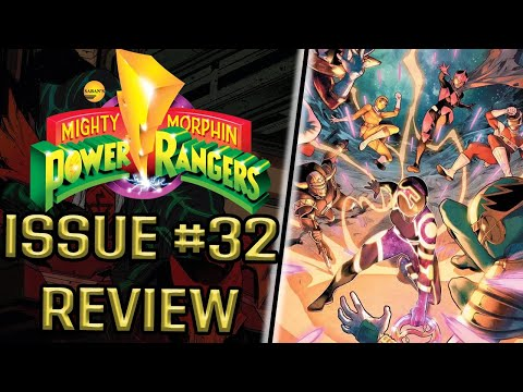 Mighty Morphin Power Rangers Issue #32 Comic Review
