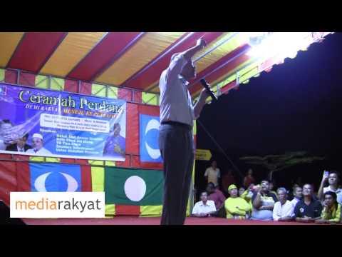 Anwar Ibrahim: Najib Berani Hari-Hari Marah Kita, Debat Tak Berani