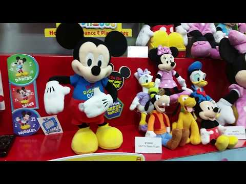 Toy Fair 2018 Just Play Hot Diggity Dance Mickey