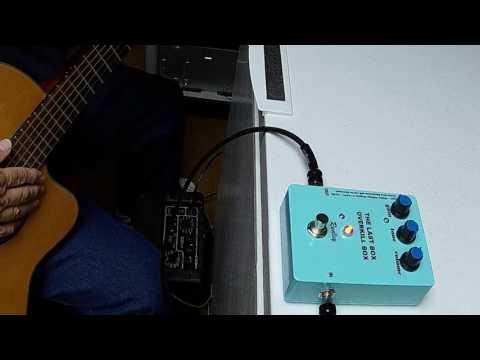 THE LAST BOX Demo - Classical Guitar with VOX DA5 Amp