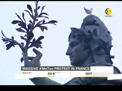 Massive #MeToo protest in France
