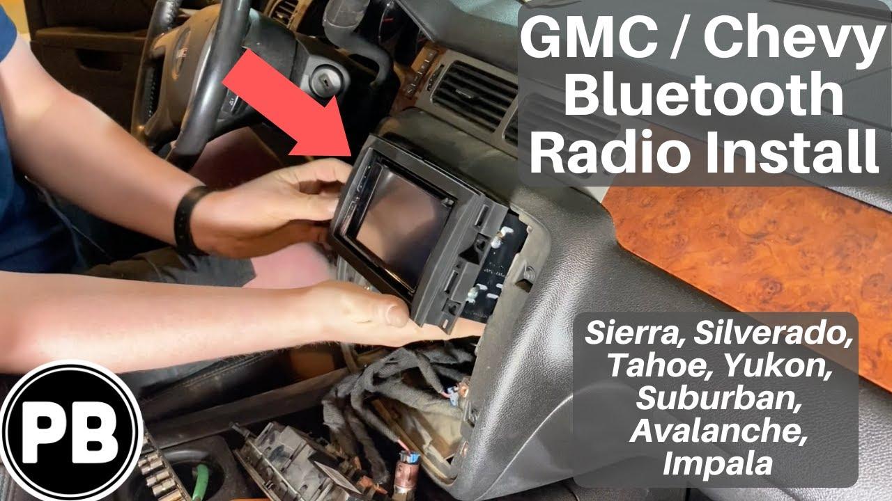 2007 - 2014 GMC / Chevy Radio Install Sierra [ 720 x 1280 Pixel ]