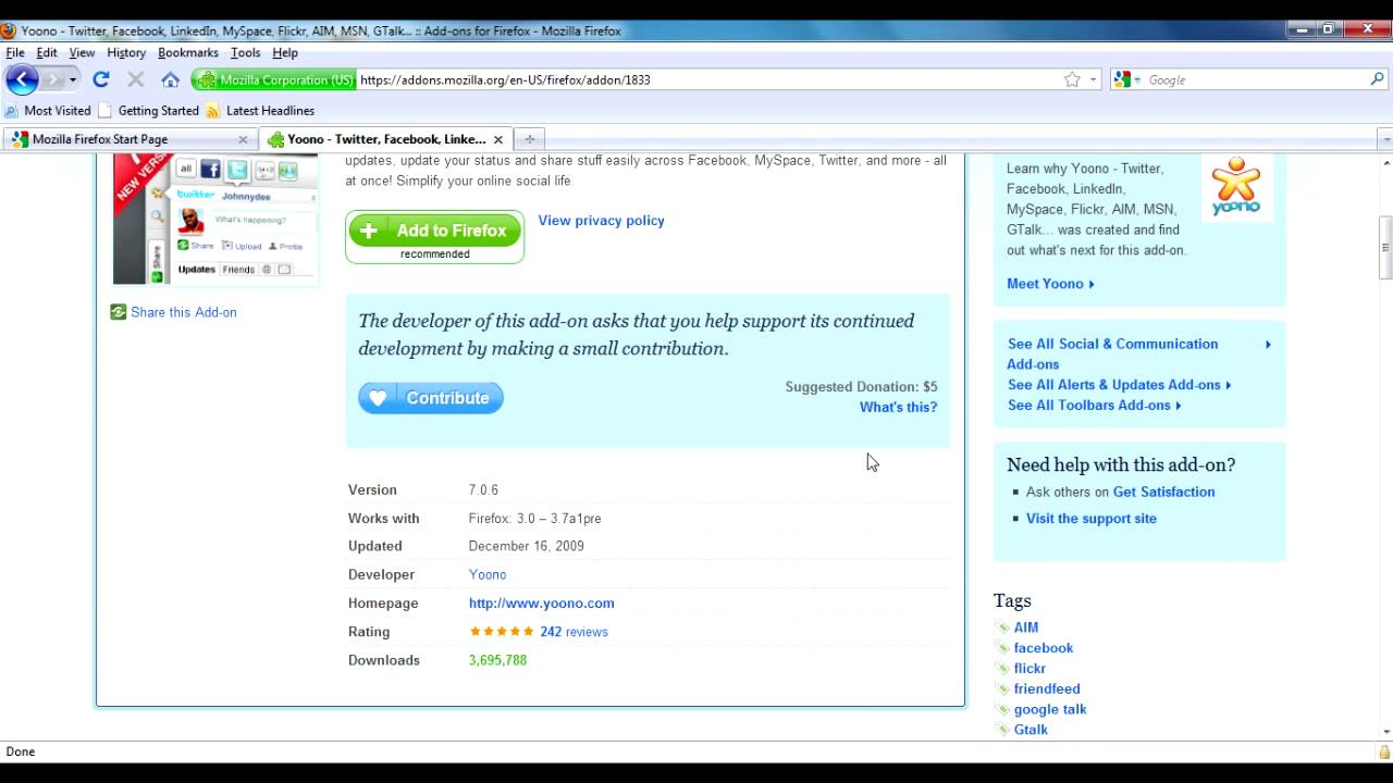 Add On Download Video Mozilla