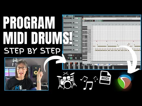 How To Program A Drum Track In Reaper With MIDI