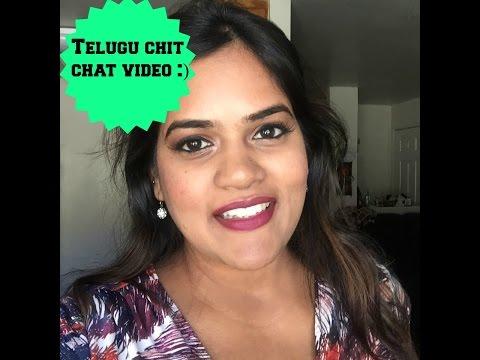 Indian youtuber - Telugu Chit Chat video   Desigal1010