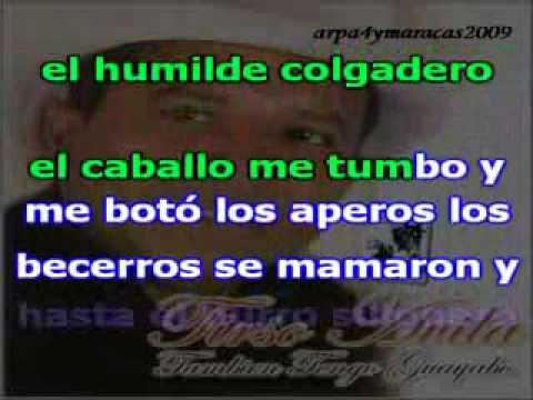 Karaoke - Yo tambien tengo un guayabo - Tirso Avila