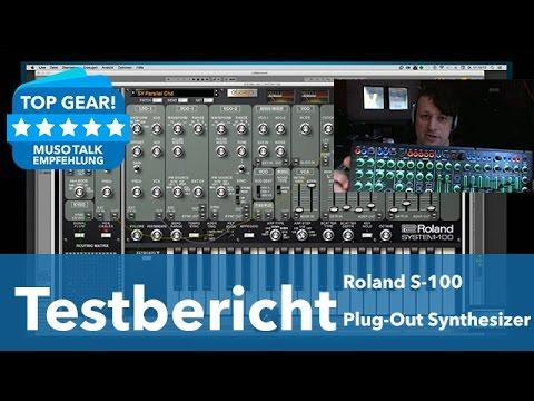 Test - Roland System 100 klingt das Plug-in wie das Original ? - deutsch