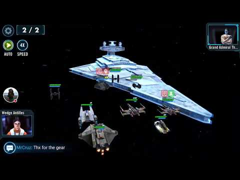 SWGOH - Chimaera Ship Event and 7* unlock (video work in progress)
